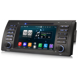 Autoradio GPS Android BMW E39 Bluetooth Multimedia Origine 2 DIN Pour Business Touring DVD DIVX TNT CD Ecran LCD Double Din