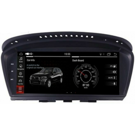 Ecran GPS BMW E63 Android Autoradio DVD Serie 6 Poste Radio Ecran Tactile Carplay Multimedia Bluetooth
