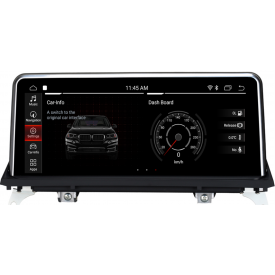 "Autoradio BMW X5 E70 Android GPS Ecran Tactile 10.25"" DVD"