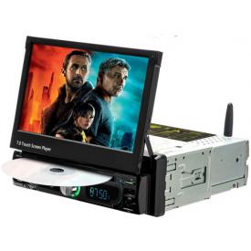 Autoradio Android Auto Waze Compatible 1 DIN Ecran Motorise Multimedia Carplay Mirrorlink GPS DVD Wifi Sans Fil Poste Pas Cher