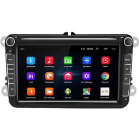 Autoradio Polo 5 d'origine Bluetooth Poste Radio Ecran Tactile Pour VW Volkswagen 6R Confortline USB Camera De Recul Double Din
