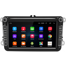 Autoradio Scirocco Carplay Android Auto GPS Volkswagen VW 2 DIN Bluetooth RCD 510 2008 2009 2010 2011 2012 2013 2014 2015 2016