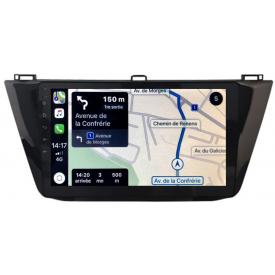 Autoradio GPS VW Tiguan Android Poste Radio usb volkswagen 2 DIN Multimedia Apple Carplay DAB Ecran Tactile 2017 2018 2019