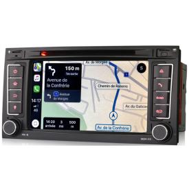Autoradio Touareg 2003 2004 2005 2006 2007 2008 2009 2010 Compatible GPS Carplay Bluetooth Android Volkswagen vw 7l original