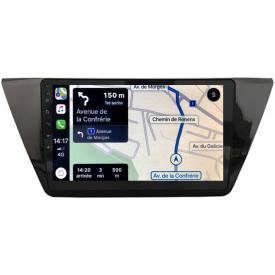 Autoradio Multimedia Touran Android GPS 2 Din Carplay 2016 2017 2018 2019 2020 MP3 Poste Radio rns 510 USB DAB+ CD DVD Pas Cher