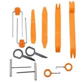 Outils démontage garniture sans rayure et clés extraction autoradio