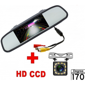 Retroviseur avec Camera de recul sans fil