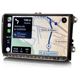 Autoradio Passat CC GPS Android Bluetooth Ecran VW Volkswagen Poste Radio Pour 2008 2009 2010 2011 2012 2014 2015