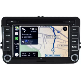 Autoradio GPS VW Caddy Android Bluetooth