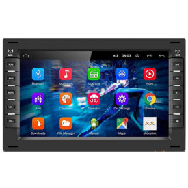 Autoradio Gps Android Transporter T5 Bluetooth Apple Carplay d'origine VW Volkswagen 2 din