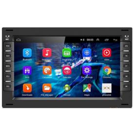 Autoradio Gps Android Sharan Bluetooth Apple Carplay d'origine VW Volkswagen 2 din