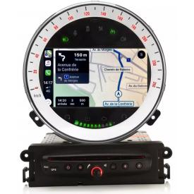 Ecran GPS Mini Cooper Tactile Poste Compatible Carplay Android usb Origine Cooper s r56 r60 r57 2006 2007 2008 2009 2010 2011