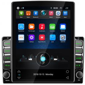 Tesla Ecran Tactile de bord Apple Carplay Android Auto GPS Bluetooth Voiture Type Tesla Style