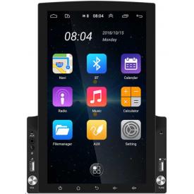 Autoradio Tesla Style Android Auto GPS Bluetooth Carplay Poste Radio Type Tesla