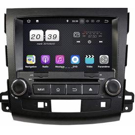 Autoradio GPS Citroen C Crosser Multimedia Compatible Pour Citroen Ecran Radio 2 Din