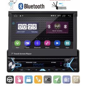 Autoradio 1 DIN Ecran Motorisé Android