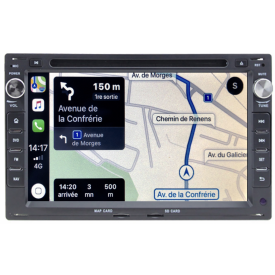 Autoradio Bora Original GPS VW Volkswagen Poste 2 DIN Android
