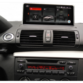 Autoradio BMW E87 Serie 1 Ecran Android Gps bluetooth multimedia adaptable compatible poste origine 2004 2005 2006 2007 2008