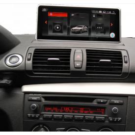 Ecran GPS BMW Serie 1 E87 E88 E82 E81 Android poste bluetooth adaptable multimedia compatible origine écran tactile