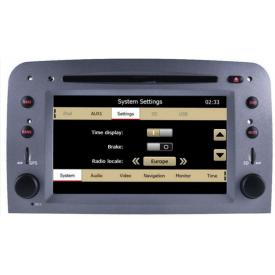 Autoradio 2 din gps Alfa GT compatible android bluetooth poste alfa romeo bose aux