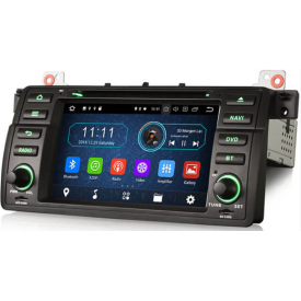 Autoradio BMW E46 Harman Kardon Compatible Origine Android 2 Din Serie 3 Pas Cher Bluetooth Ecran Tactile