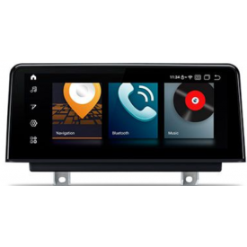 Autoradio GPS BMW F35 Android Carplay Serie 3 Poste Ecran Tactile pro 3D Professional Business