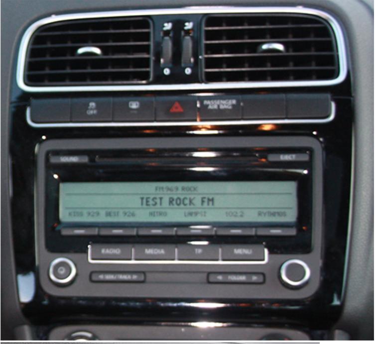 autoradio compatible volkswagen polo