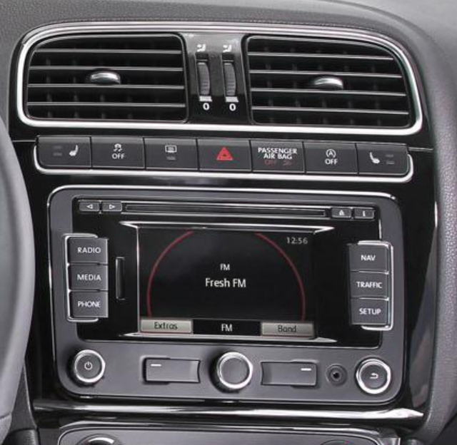 Autoradio Volkswagen Polo Carplay Android Bluetooth Compatible 2 Din