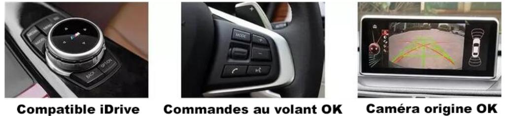 autoradio gps bmw molette idrive