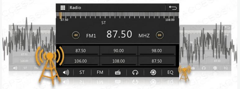 autoradio android radio fm dab dab+