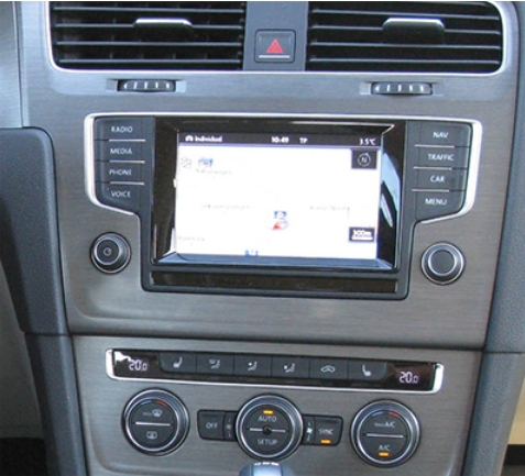 gps vw golf 7