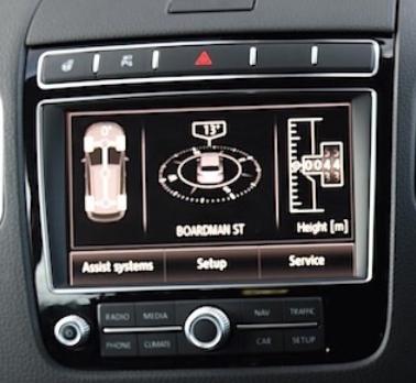 autoadio gps android vw touareg