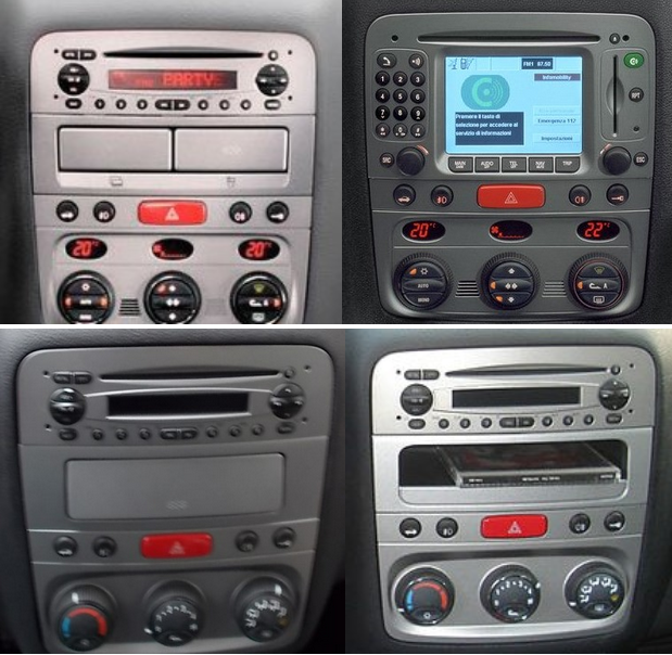 autoradio alfa 147 compatible