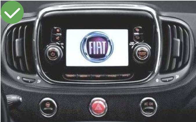 autoradio fiat 500x