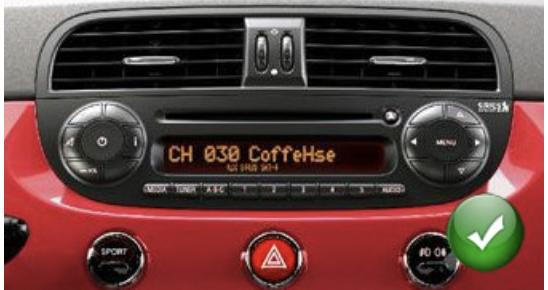 autoradio fiat 500